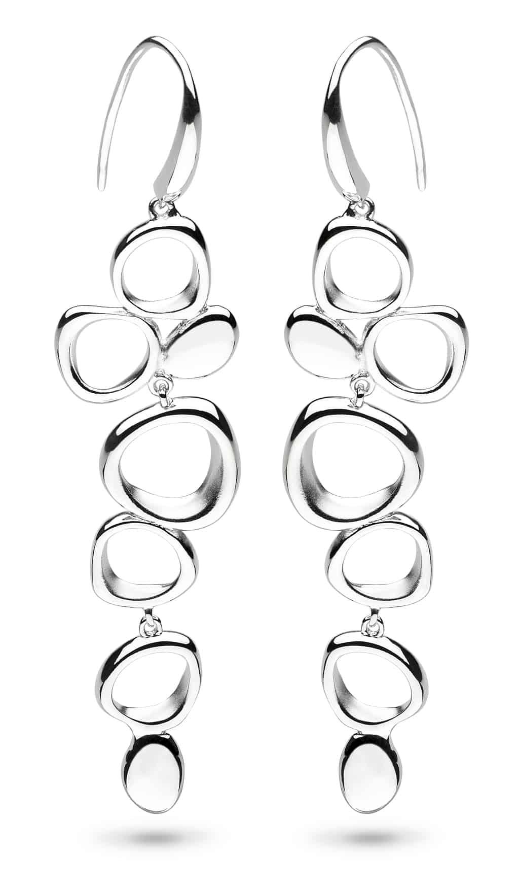 9e0f565d0 KIT HEATH SHORE LONG DROP EARRINGS SILVER | Belmont Jewellery