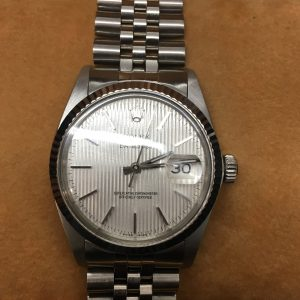 Rolex Steel Datejust gents pre -owned Wristwatch.
